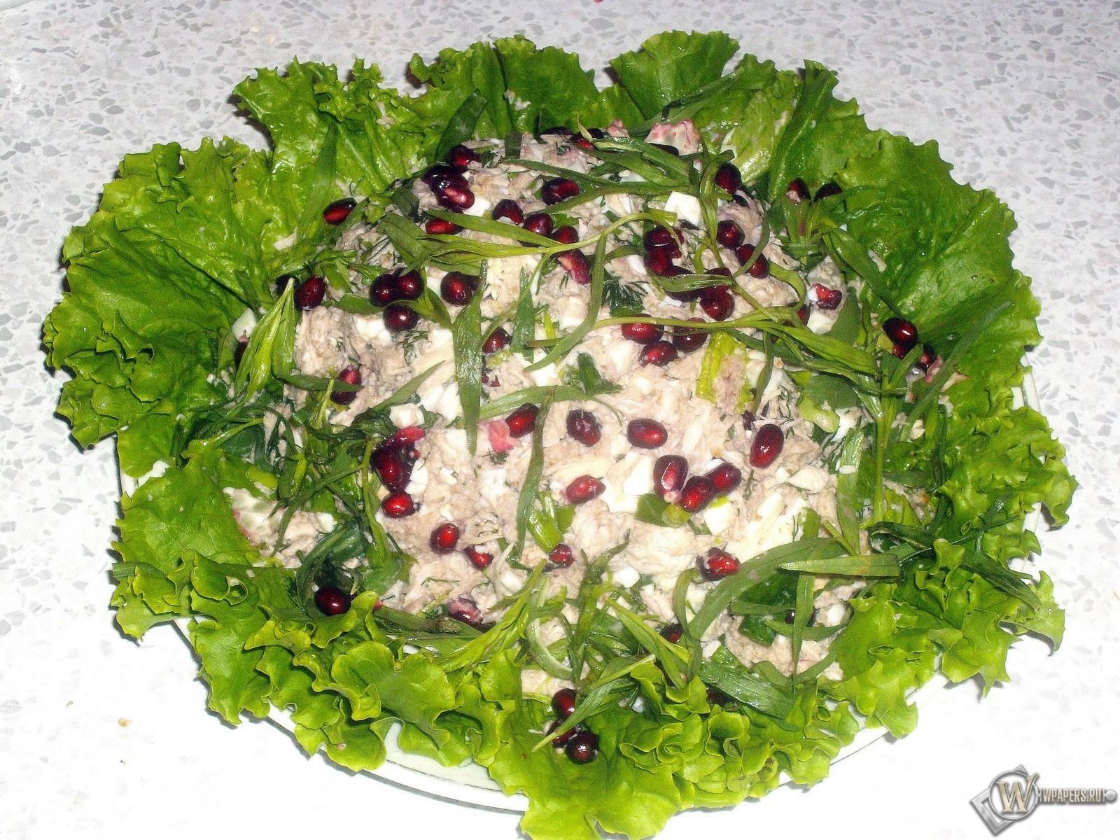 Грузинский салат с курицей 1600x1200