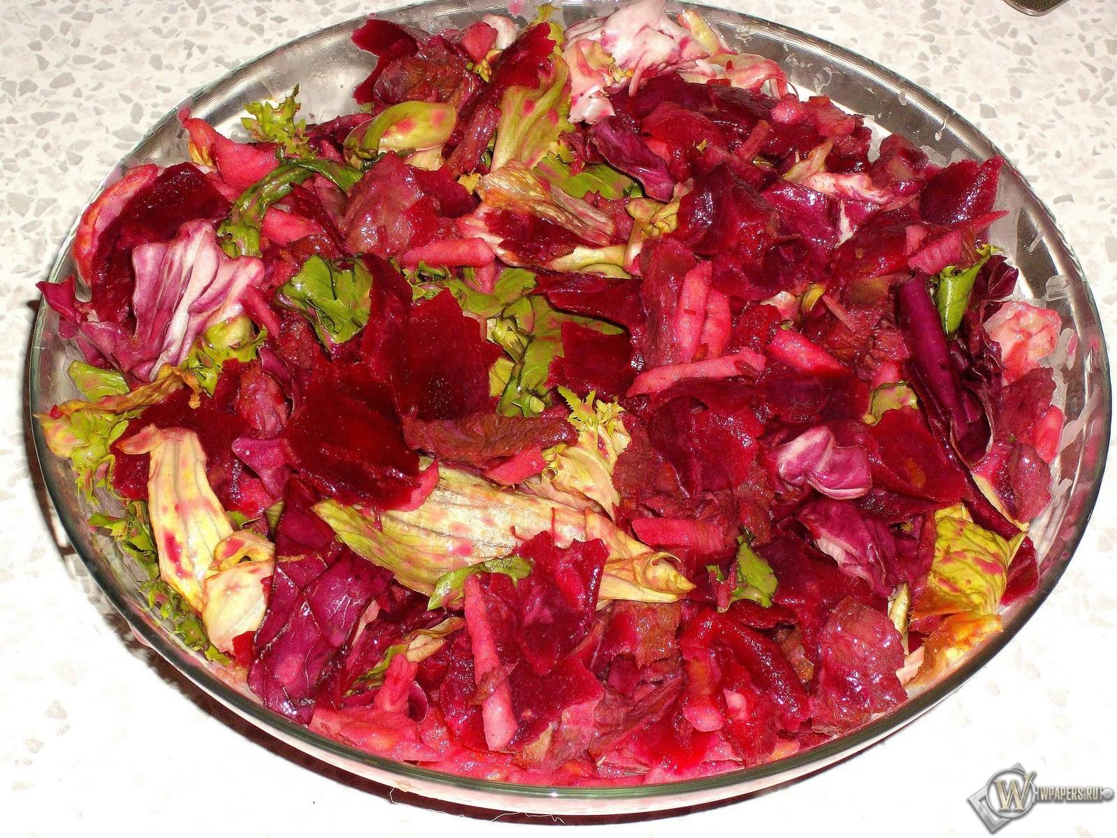 Мясной салат с апельсинами и свеклой 1600x1200