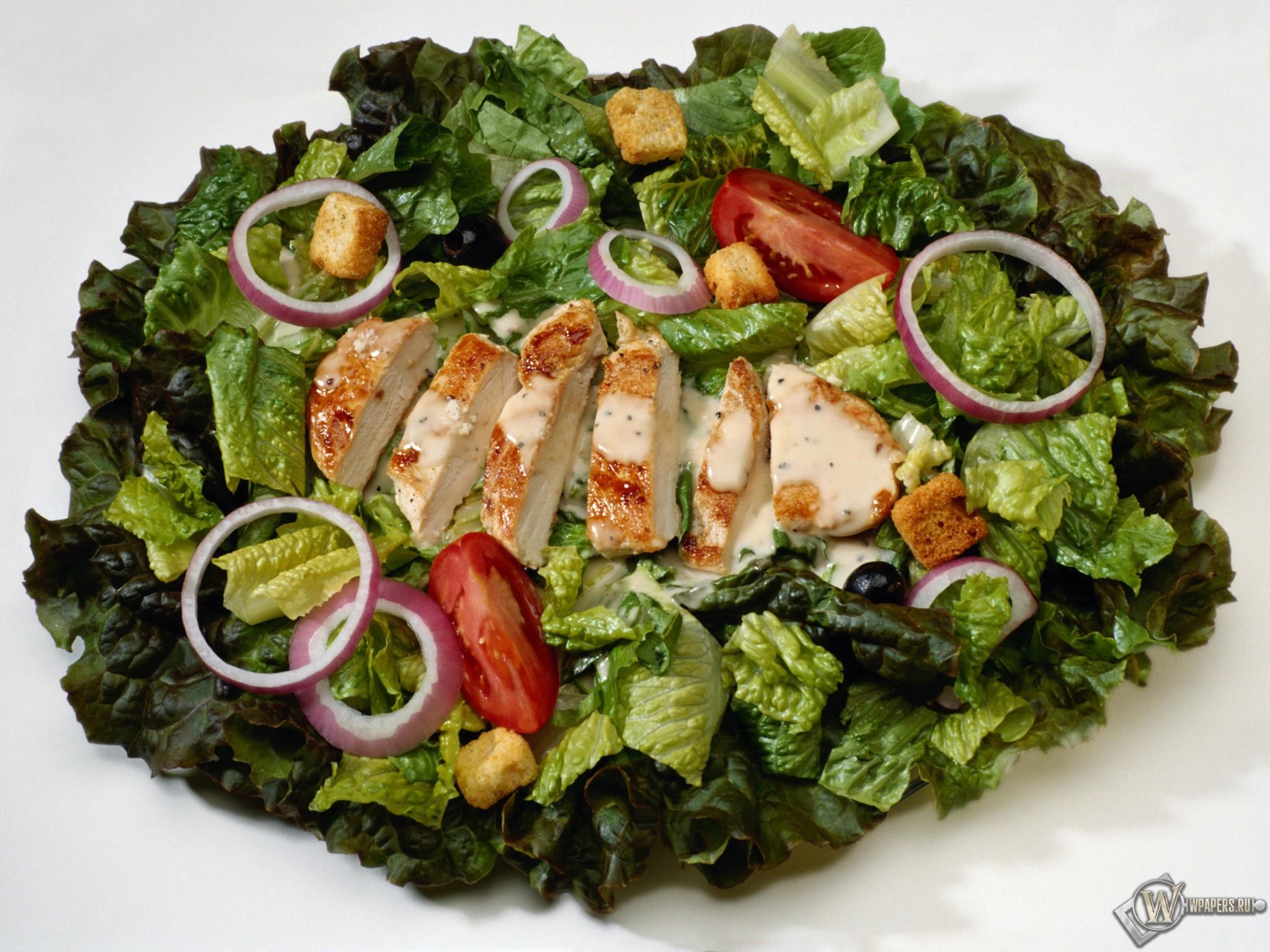 Рецепты салатов с курицей с фото от наших кулинаров ...