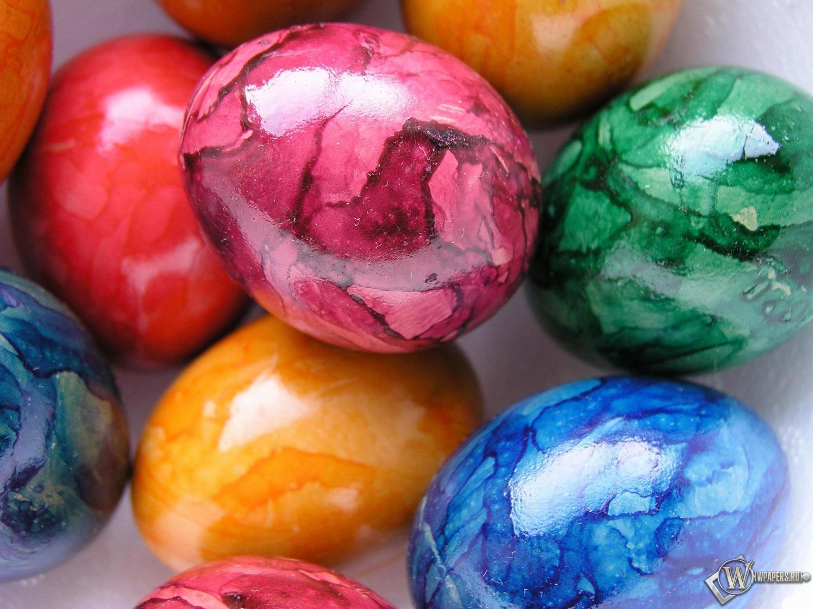 Обои пасхальные яйца на рабочий стол с