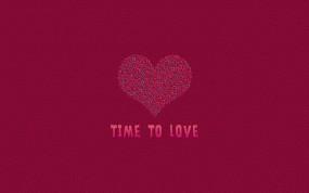 Обои Время для любви: Любовь, Графика, День святого Валентина, Праздники