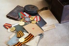 Обои Память: День Победы, Награды, Медали, Документы, День победы