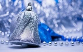 Обои Новогодний колокольчик: Колокольчик, Новый год, Новый год