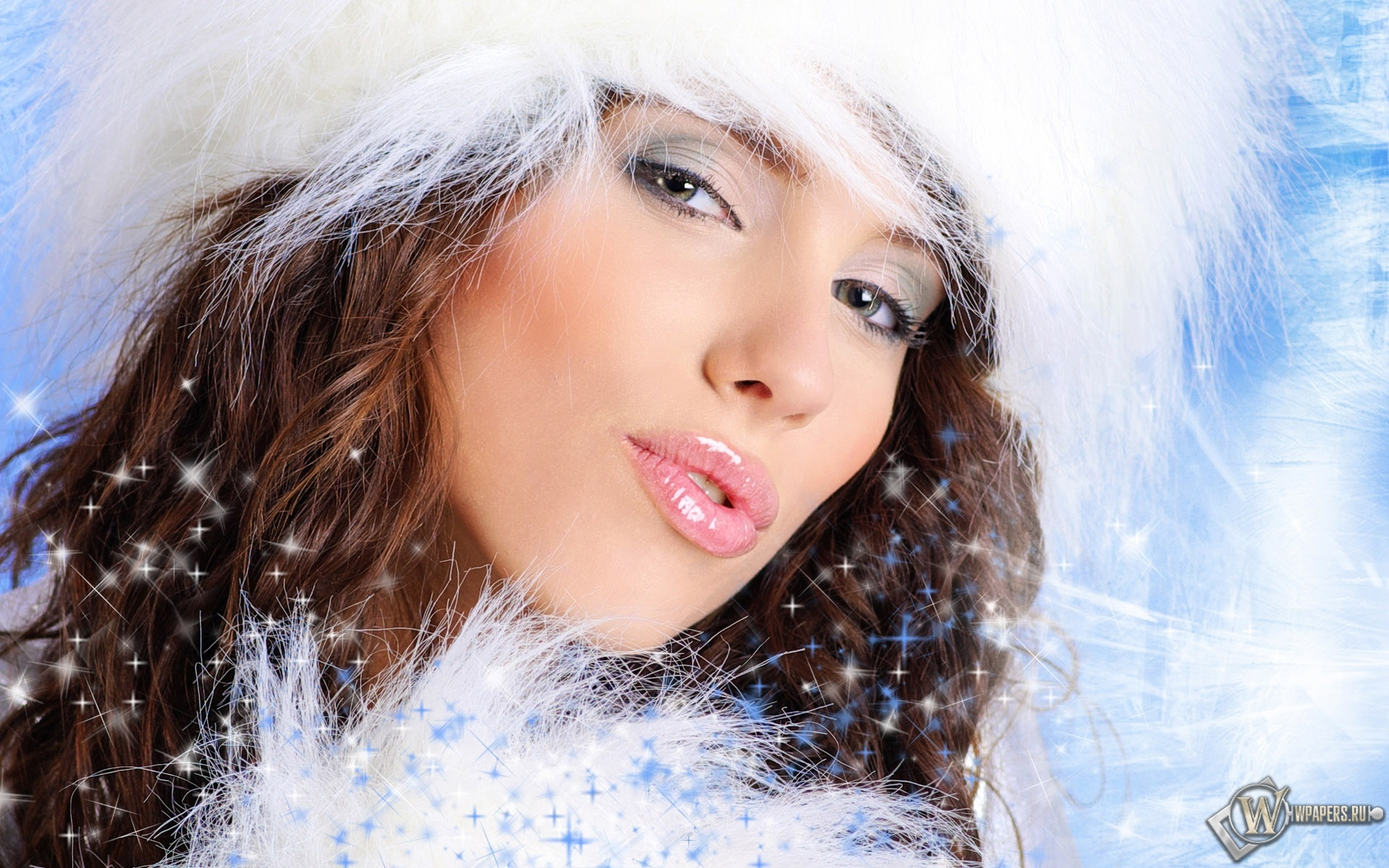 Эротические снегурочки обои 19 фотография