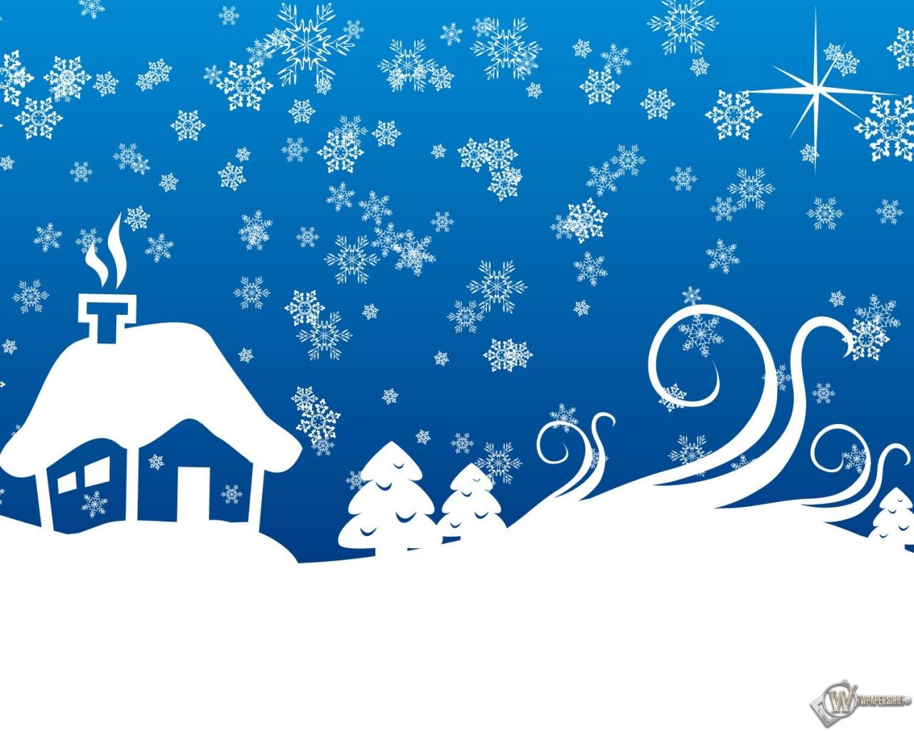 Картинки бесплатно зима деревня
