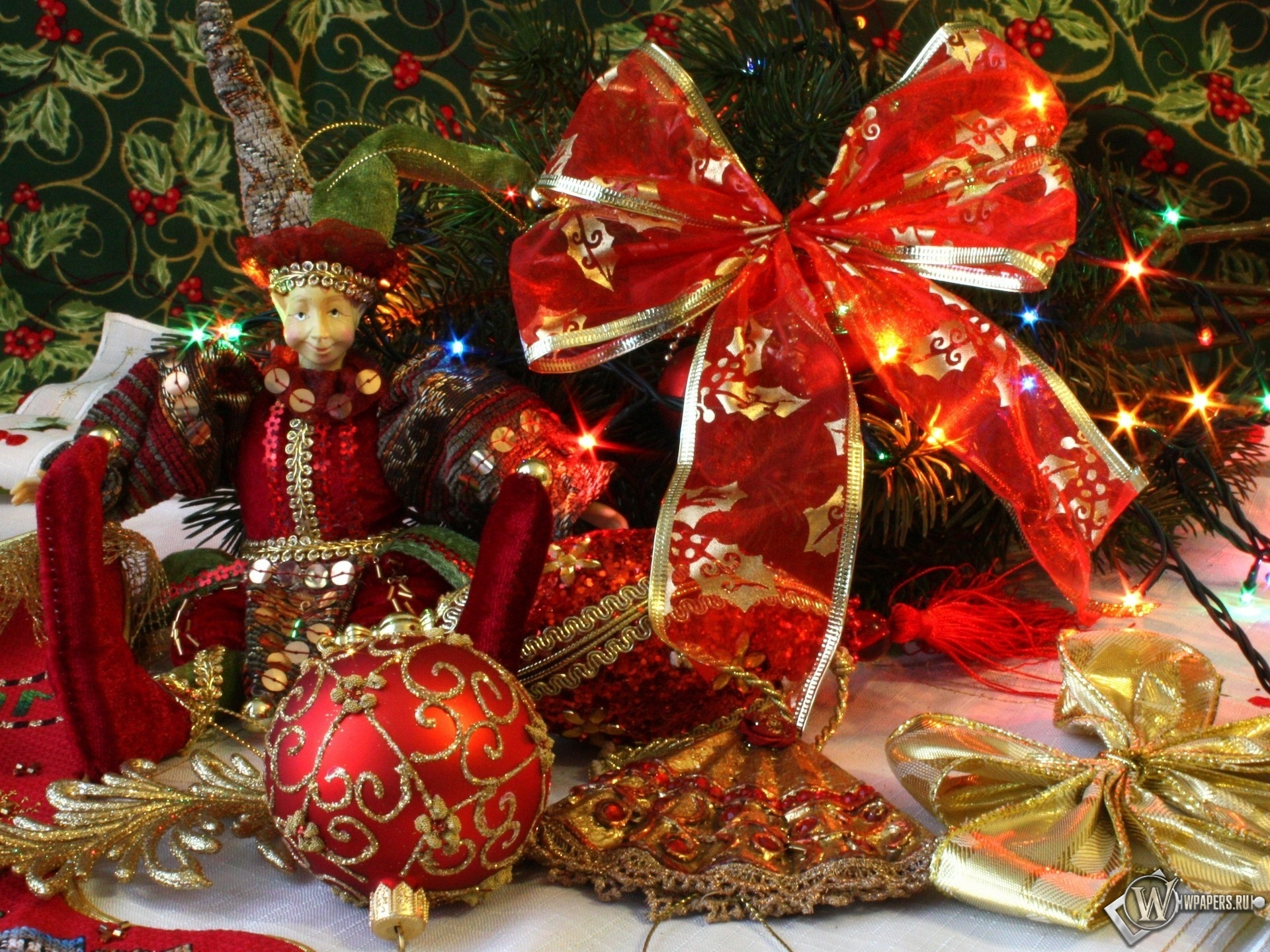 Новогоднее убранство 1920x1440