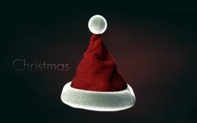 Обои Рождественская шапка: Шапка, Рождество, Новый год