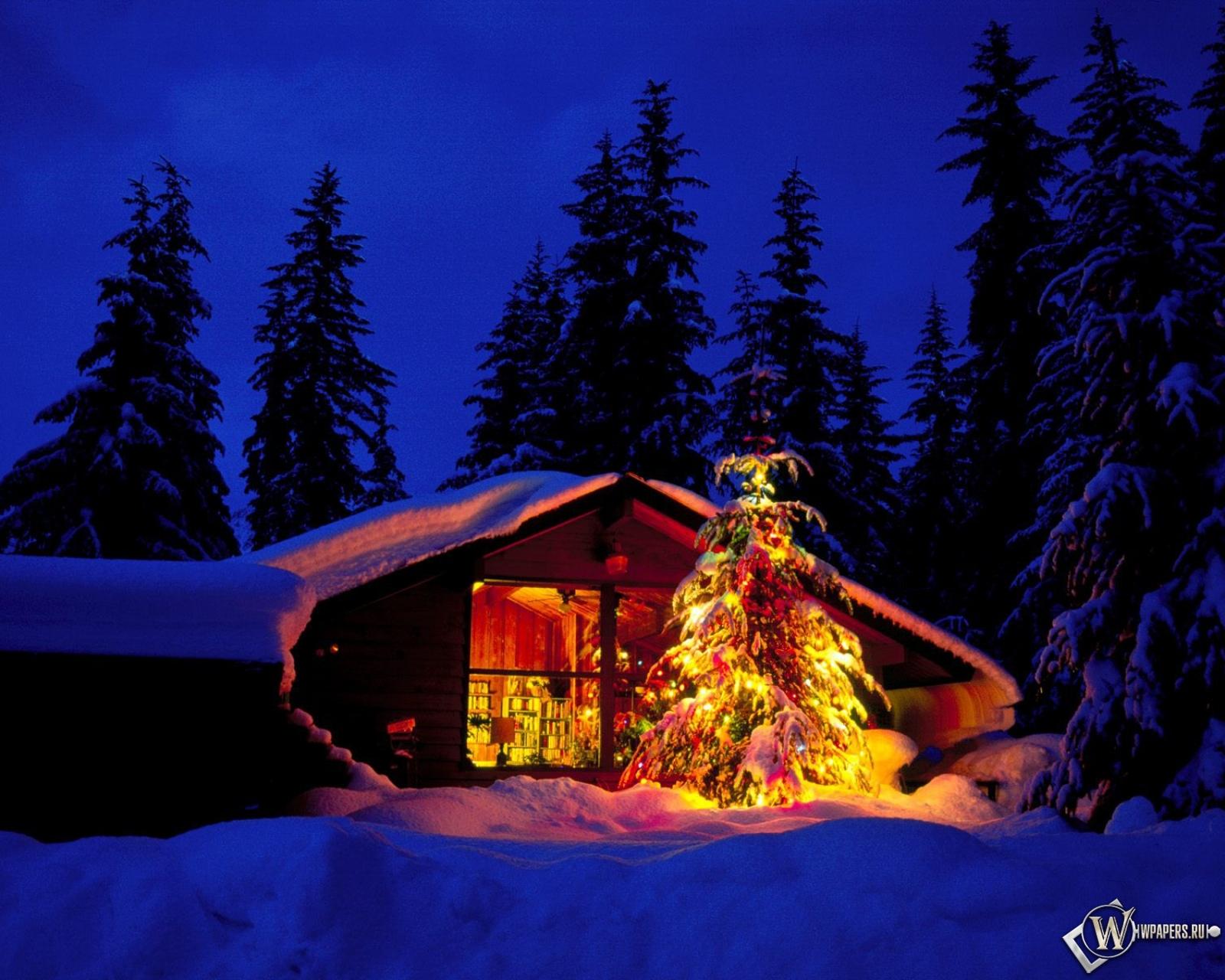 Обои новый год зима новый год