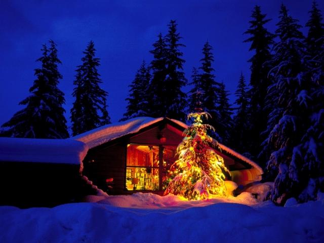 Картинки с зимой на комп большие