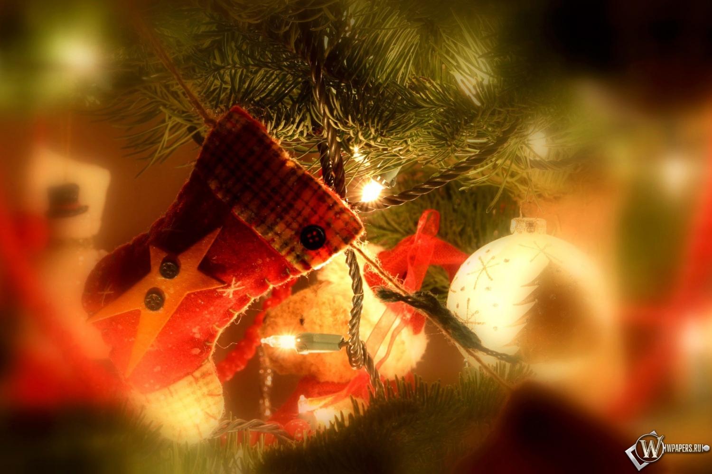 Рождество праздник украшение носок