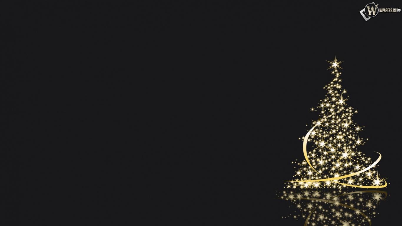 огни обоев 80 вектор обоев 20 елка обоев ...: wpapers.ru/wallpapers/Holidays/New-Year/6366/1366-768_Елка.html