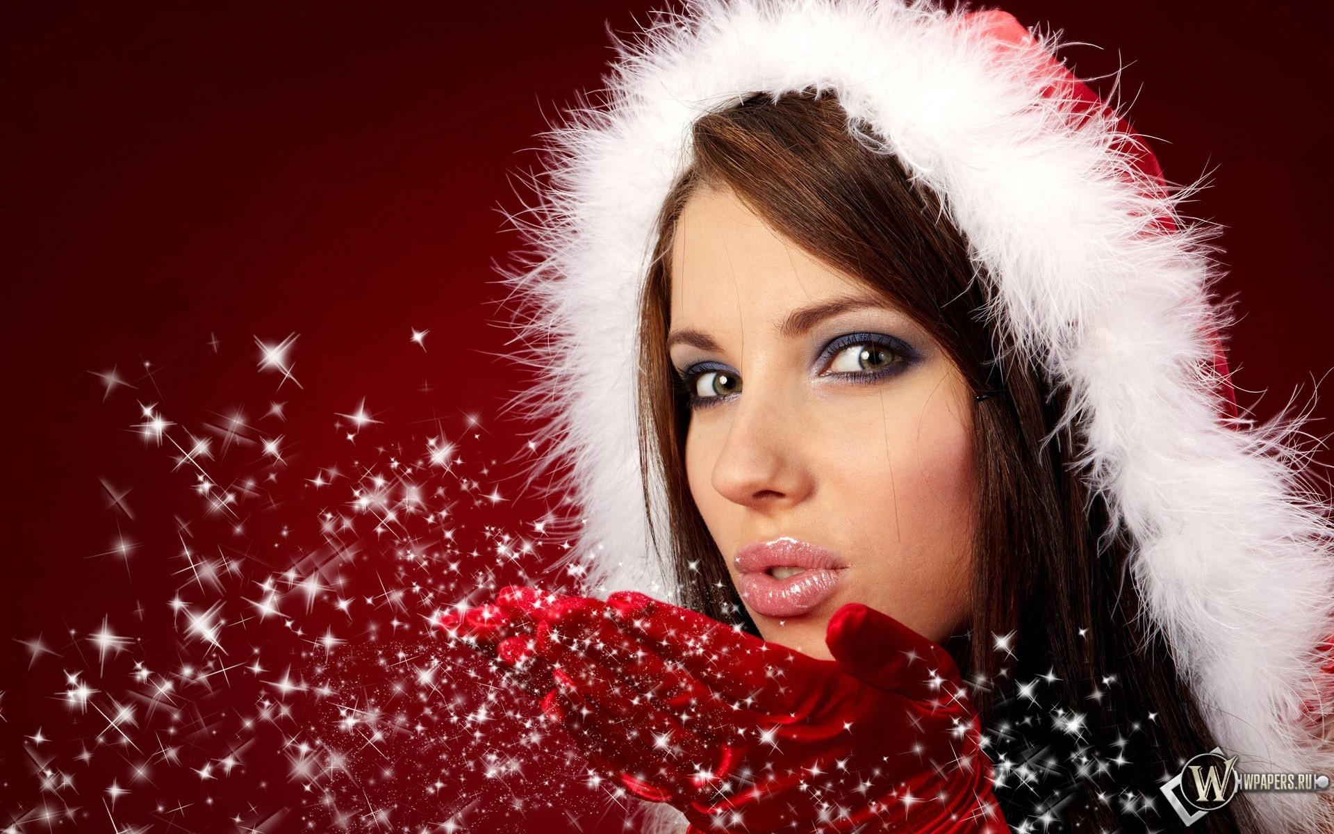 Christmas Girl 1920x1200