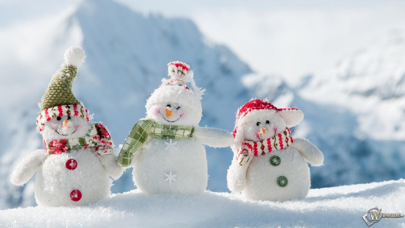 Картинки горы зима на рабочий стол 1366х768