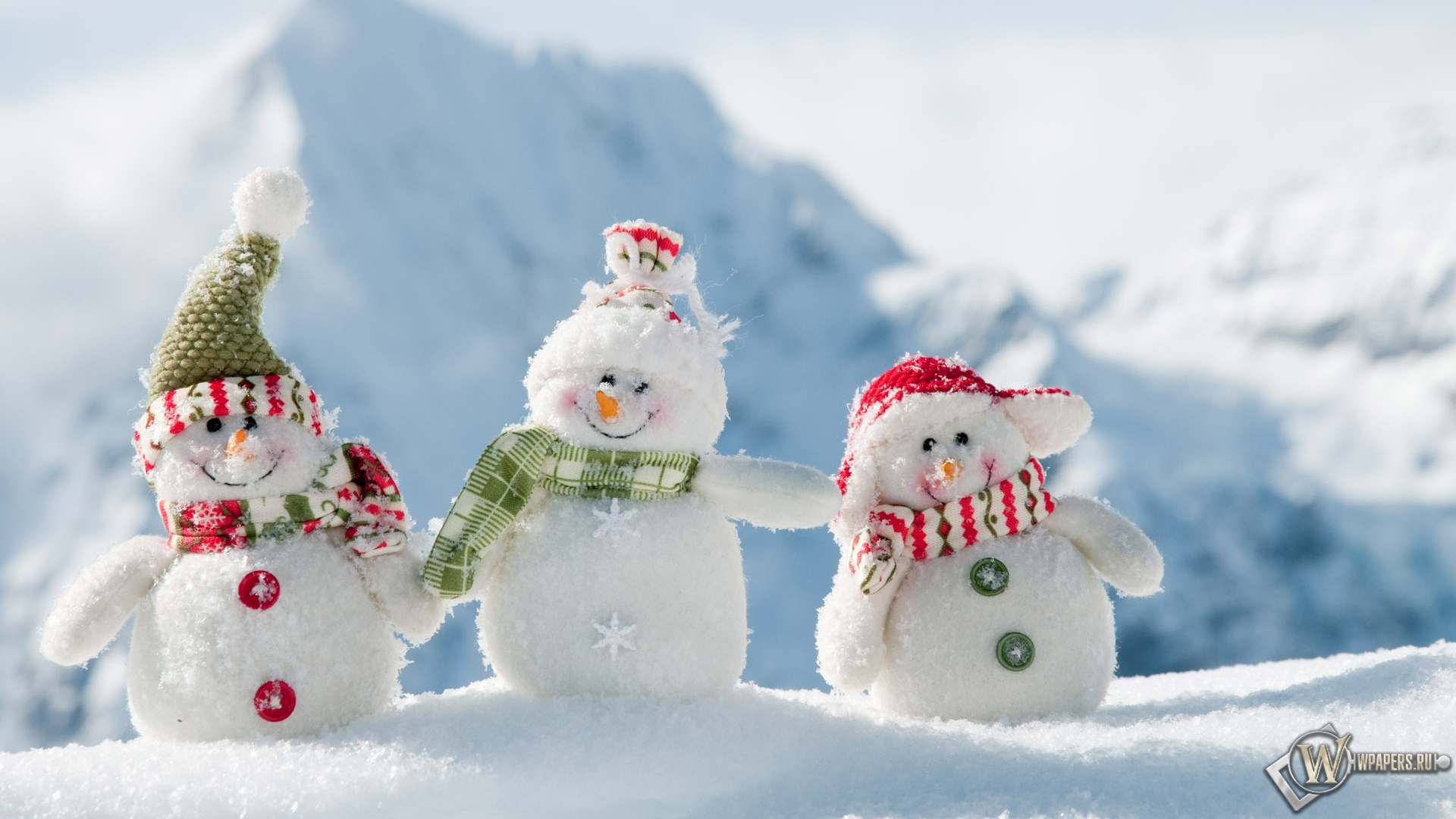 Картинки зима новый год 1920х1080