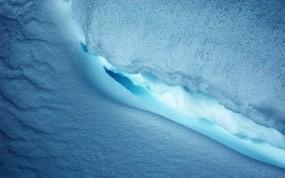 Обои Ледник: Лёд, Снег, Синий, Лёд