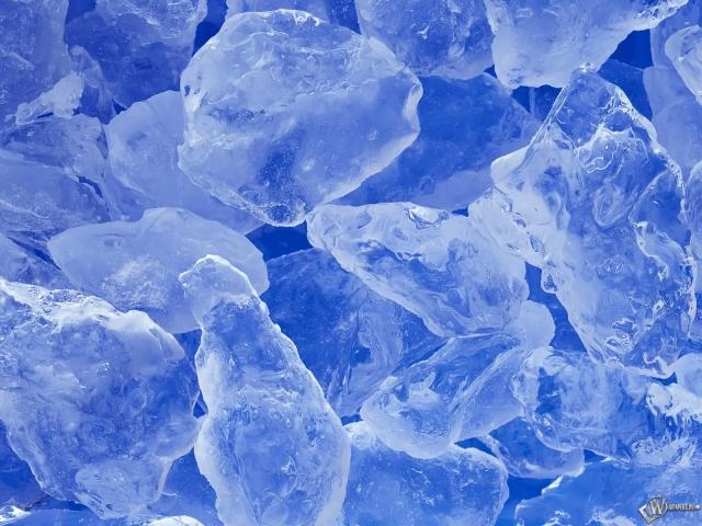Покрошенный лёд