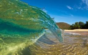 Обои Волна: Пляж, Вода, Волна, Вода