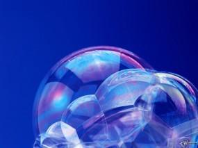Обои Пузырики: , Вода