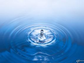 Обои Капля в океане: , Вода