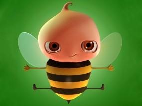 Забавная пчела