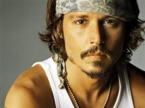 Обои Johnny depp: Johnny Depp, Актёр, Бандана, Мужчины
