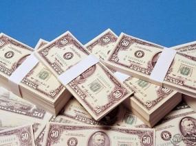 Обои Пачки Доларов: Доллары, Пачки с деньгами, Пачки с баблом, Деньги