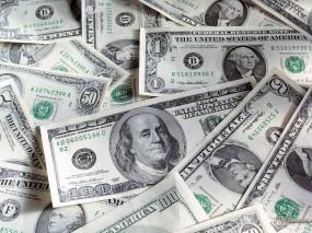 Обои Грязные зеленые бумашки: Вашингтон, Линкольн, Баксы, Деньги
