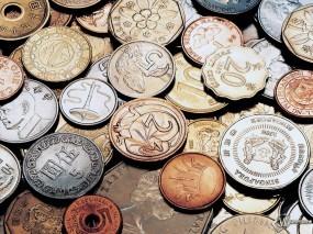 Обои Монеты: Нумизмат, Коллекция монет, Монеты мира, Деньги