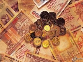 Обои Деньги: Куча денег, Богатство, Банкноты, Купюры, Деньги