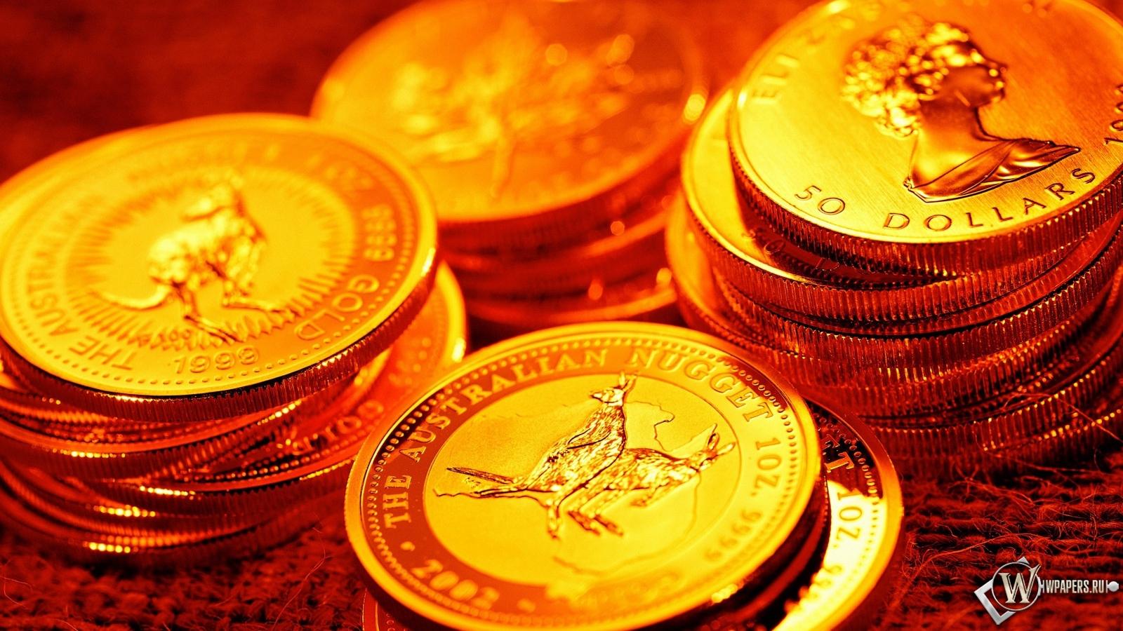 Монеты ценность 1600x900 картинки