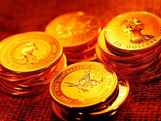 Золотые монеты австралии