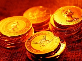 Обои Золотые монеты австралии: Золото, Деньги, Монеты, Ценность, Деньги