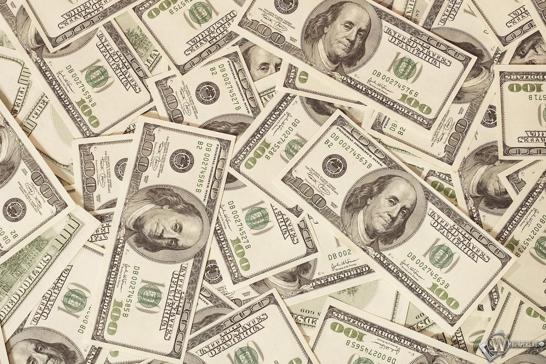 Скачать обои 100 долларов (Банкноты, Купюры, Доллары, Деньги ...