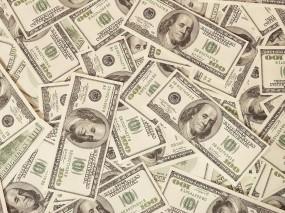 Обои 100 долларов: Банкноты, Купюры, Доллары, Деньги, Денежки, Деньги