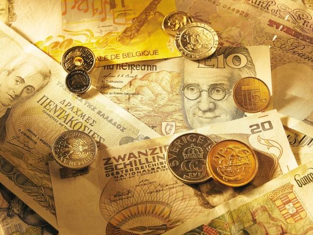 график монет и банкнот: