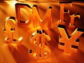 Обои Денежные знаки: Знак, Золото, Доллар, Деньги, Знаки, Евро, Деньги