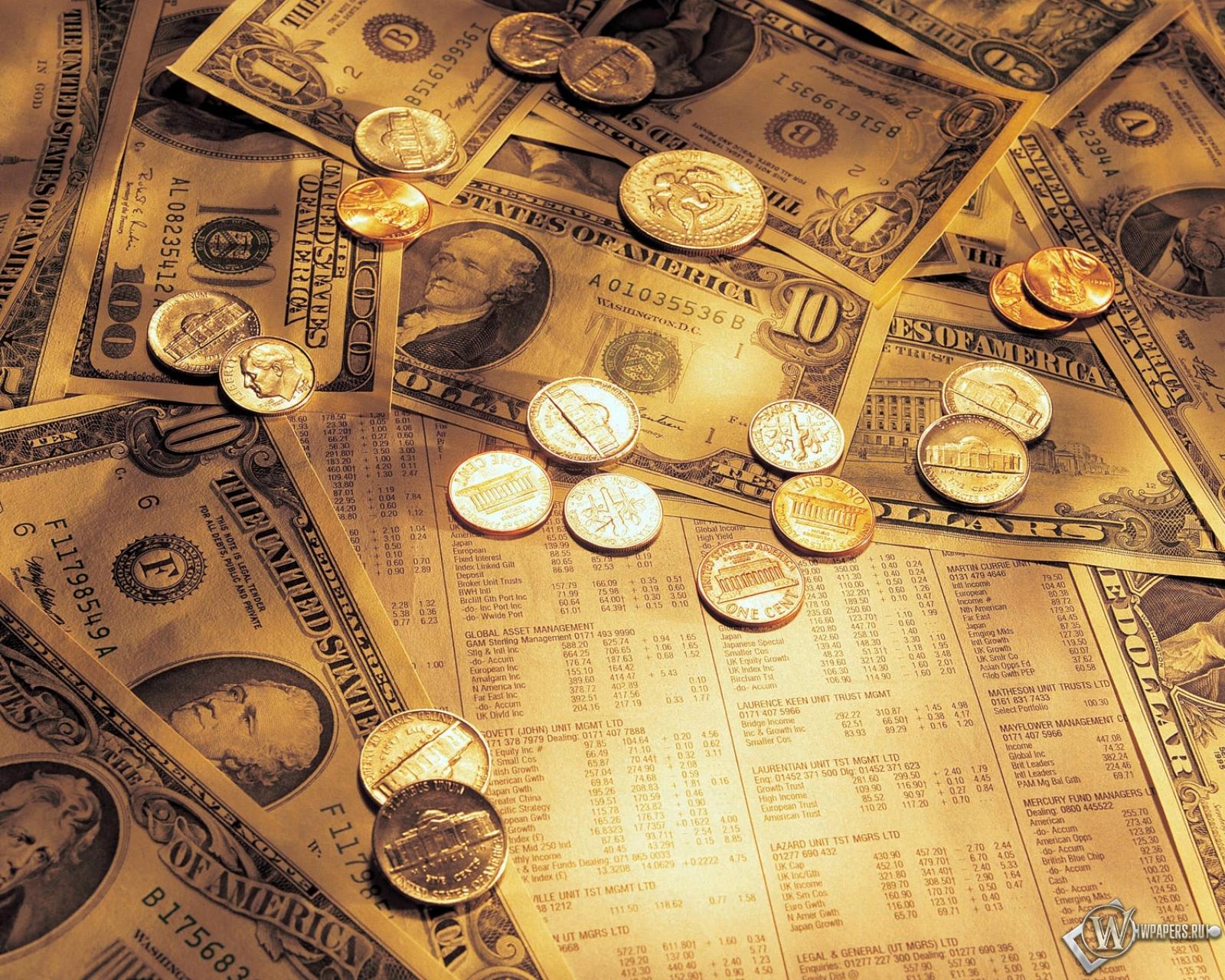 Доллары сша 1600x1280