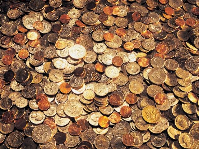 Россыпь денег
