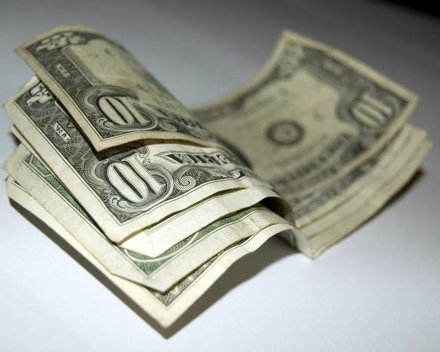 Мятые Доллары