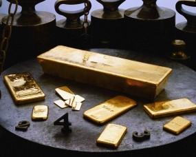 Обои Слитки золота: Золотые слитки, Золото, Слитки золота, Слитки, Деньги