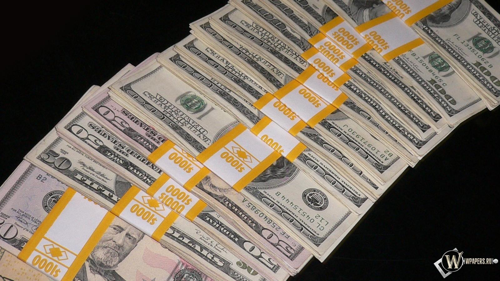 Скачать обои Пачки долларов (Банкноты, Купюры, Доллар, Доллары ...