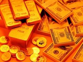 Обои Богатство: Золотые слитки, Золото, Слитки золота, Слитки, Деньги