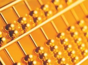 Обои Золотые счеты: Богатство, Золото, Красиво, Счеты, Деньги