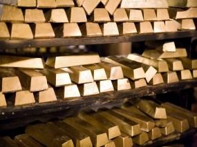 Обои Золотые слитки: Золотой запас, Золотые слитки, Богатство, Золото, Деньги, Деньги