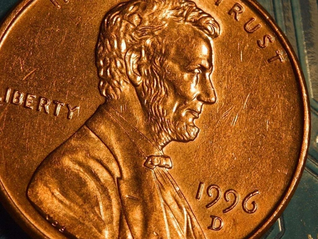 Линкольн на монете