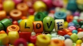 Обои Любовь: Любовь, Бусы, Надпись, Настроения