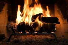 Обои Уютный камин: Огонь, Камин, Тепло, Настроения