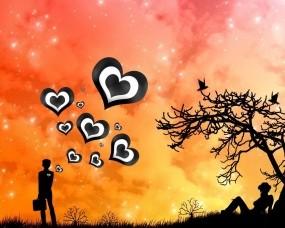 Обои Мысли о любви: Любовь, Настроение, Настроения