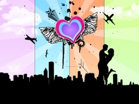 Обои Про любовь: Любовь, Сердце, Настроение, Настроения