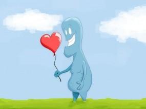 Обои Любовь: Шарик, Любовь, Настроение, Настроения